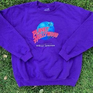 Planet Hollywood Disney sweatshirt